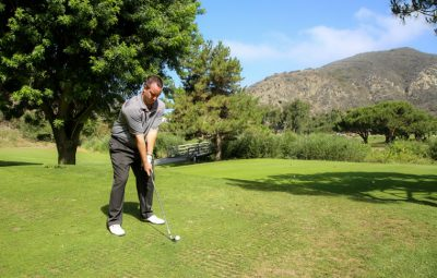 Ryan Sheffer, lead golf instructor at The Ranch at Laguna Beach | Photo by Jody Tiongco
