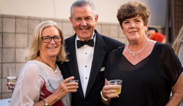 Susan Robert, Don and Nancy Pooley | Photo courtesy of Marc Weisberg