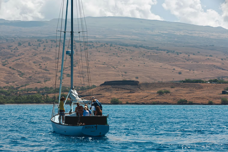Kohala Sail & Sea offers a morning snorkel tour. | Photo by than Tweedie Photography/Courtesy of Kohala Sail & Sea