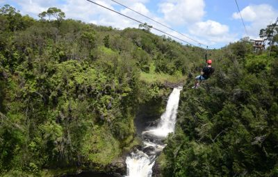 KapohoKine Adventures' Zipline Through Paradise | Photo by Kristin Lee Jensen