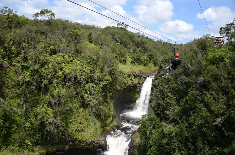 KapohoKine Adventures' Zipline Through Paradise | Photo by Kristin Lee Jensen