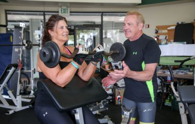 Dr. Jack Lynn suggests three to four resistance and balance training sessions per week.   Photo by Jody Tiongco