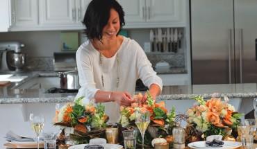 Photo by Melissa  Valladares/Tablescape design by Yoshi O'Connor, Floral Fete