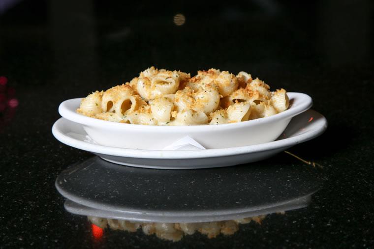 Homemade pasta is used in Lumberyard's macaroni and cheese.