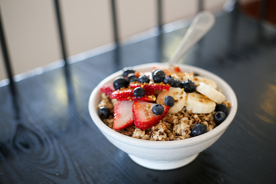 Active Culture's classic acai bowl