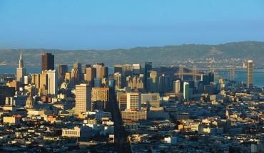 San Francisco's skyline (Courtesy of the San Francisco Travel Association)