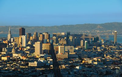 San Francisco's skyline (Courtesy of the San Francisco Travel Association)