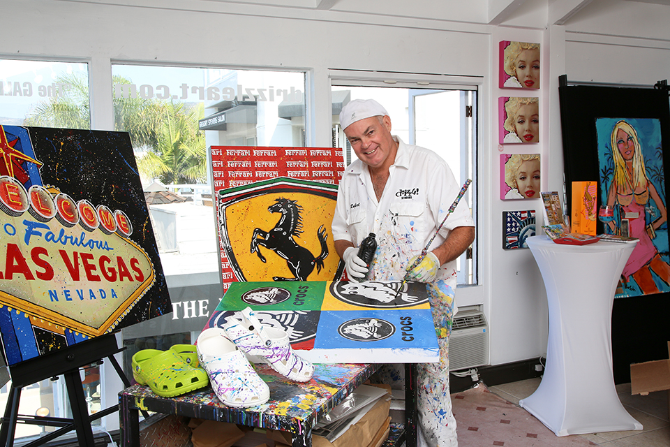 Robert Holton is at the helm of Laguna Beach's only all pop art gallery.