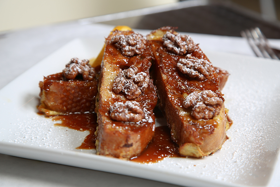 Caramel French toast (By Jody Tiongco)