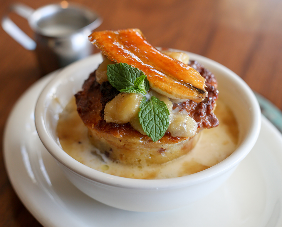Urth Bread Pudding Breakfast (By Jody Tiongco)