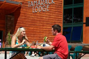 Tamarack Lodge is an on-mountain dining option for Epic Discovery visitors. | Photo by Jack Affleck