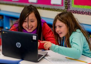 Laguna Beach Unified School District students have access to technology devices in the classroom.