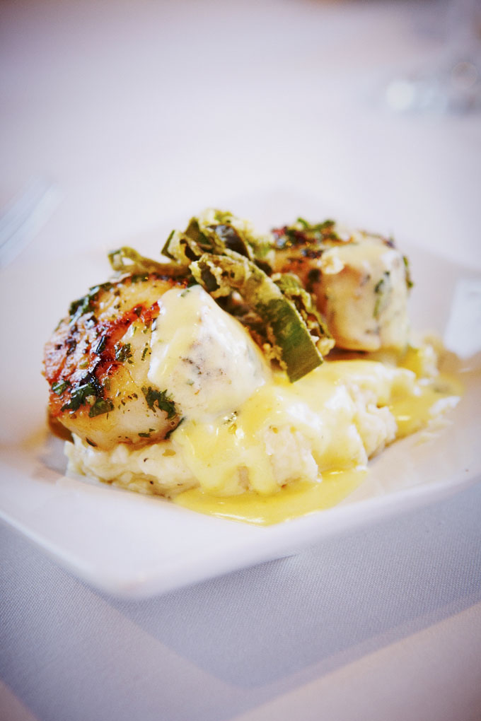 Nirvana Grille's Herb-Seared Scallops by Baldemar Fierro