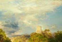 Cortez Tower by Thomas Moran