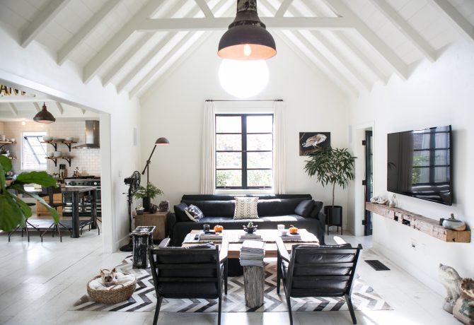 John Wooden-designed interior