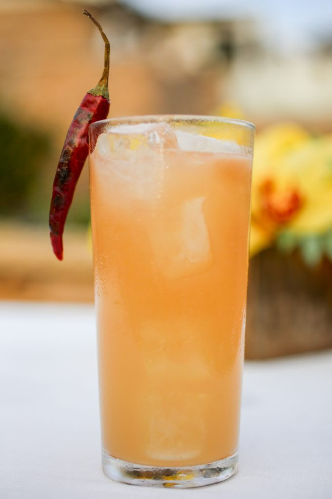 Latin Love Story cocktail at Montage Laguna Beach