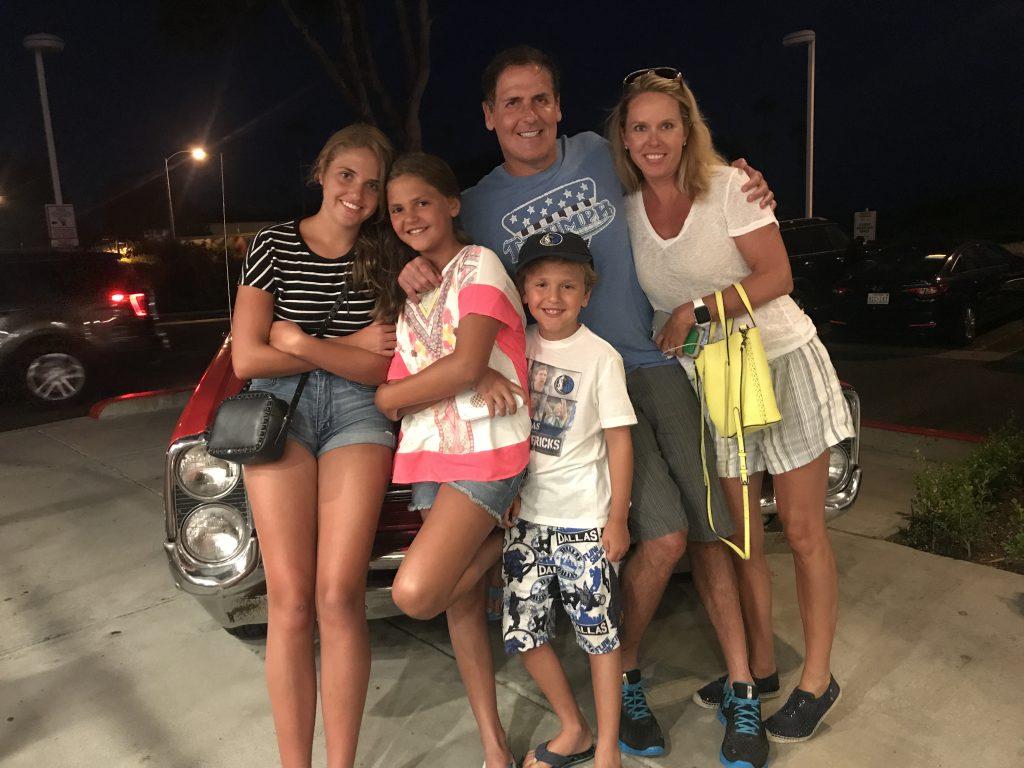 Mark Cuban family lede