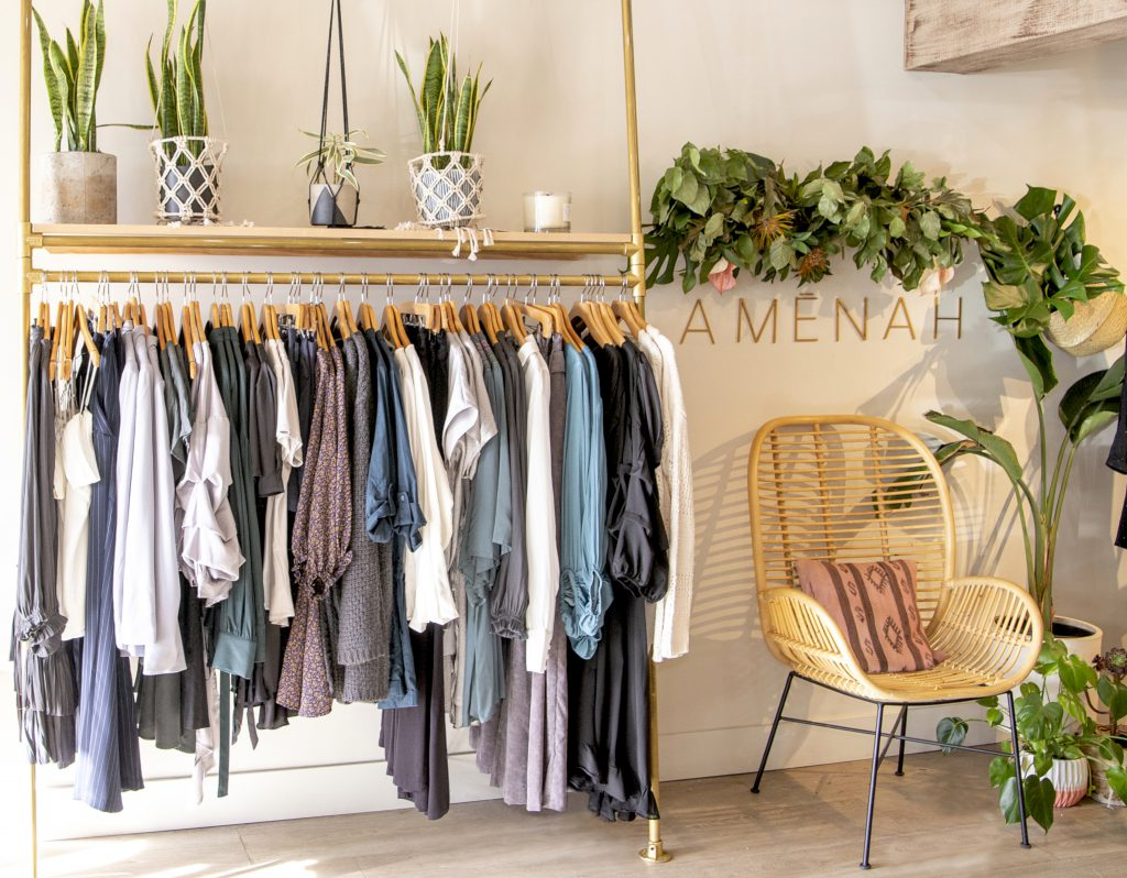 Amenah boutique interior