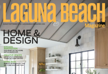 Laguna Beach Magazine cover august 2020