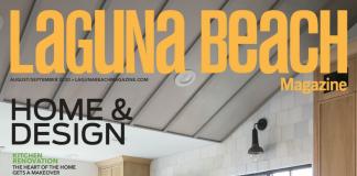 Laguna Beach Magazine cover august 2020