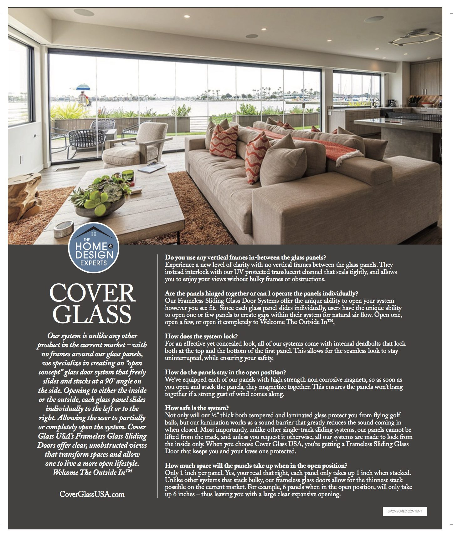Cover Glass Sponsored Content