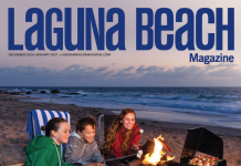 laguna beach magazine december 2020 cover