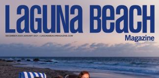 laguna beach magazine december 2020 cover