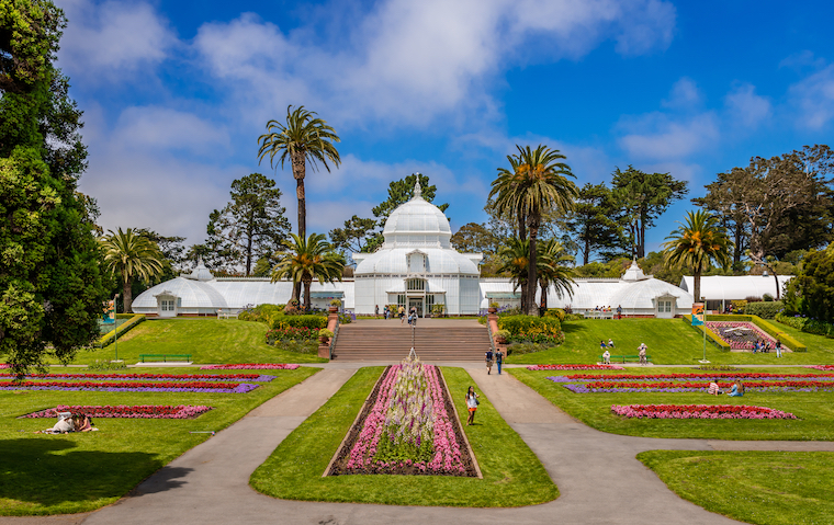 Conservatory of Flowers_credit Apostolis Giontzis/Shutterstock.com