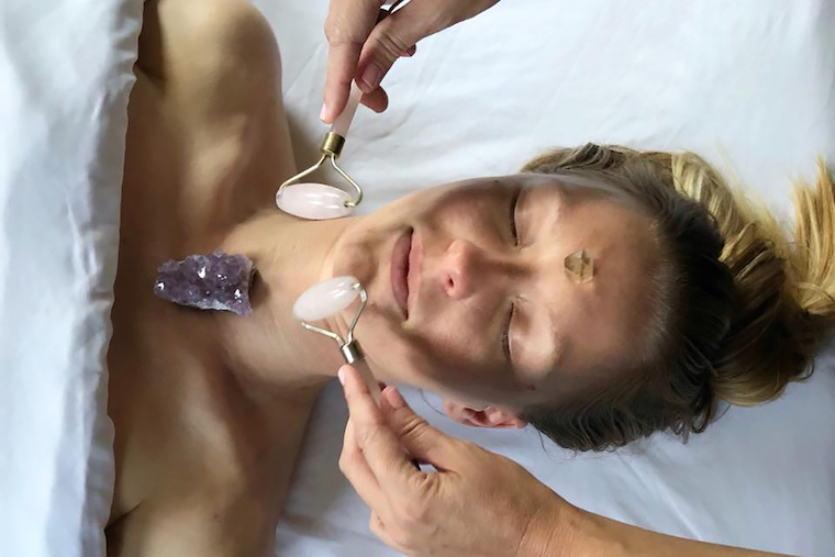 Gemstone facial at Sycamore Spa