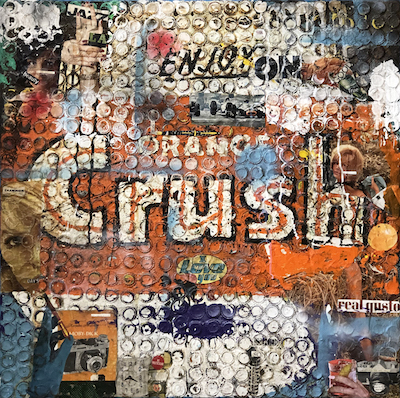 """Orange Crush"" by Greg Miller_credit JoAnne Artman Gallery"