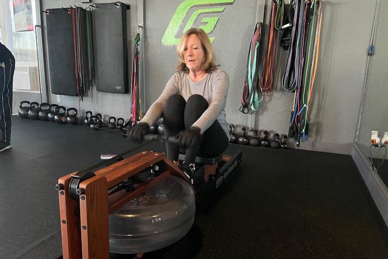 Linda Leahy at Code Green Fitness