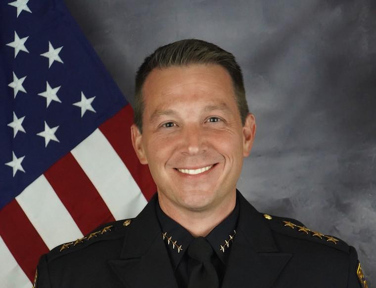 Police Chief Robert Thompson