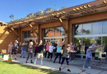 Standing Yoga class_credit Jo Ekblad