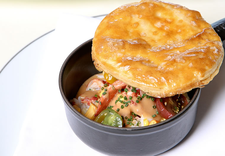 Stonehill Tavern's lobster pot pie | Photo by Jody Tiongco