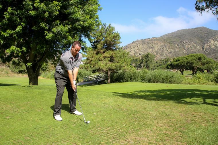 Ryan Sheffer, lead golf instructor at The Ranch at Laguna Beach | Photo by Jody Tiongco