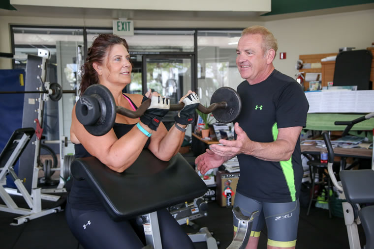 Dr. Jack Lynn suggests three to four resistance and balance training sessions per week. | Photo by Jody Tiongco