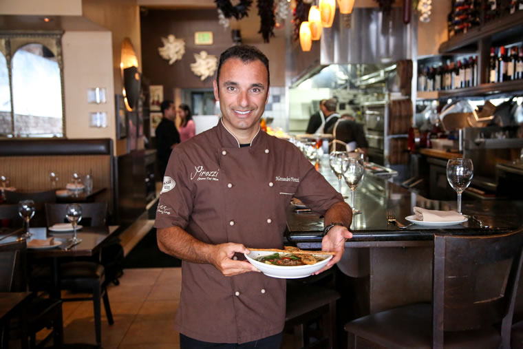 Alessandro Pirozzi began cooking with his grandmother at the age of 4.