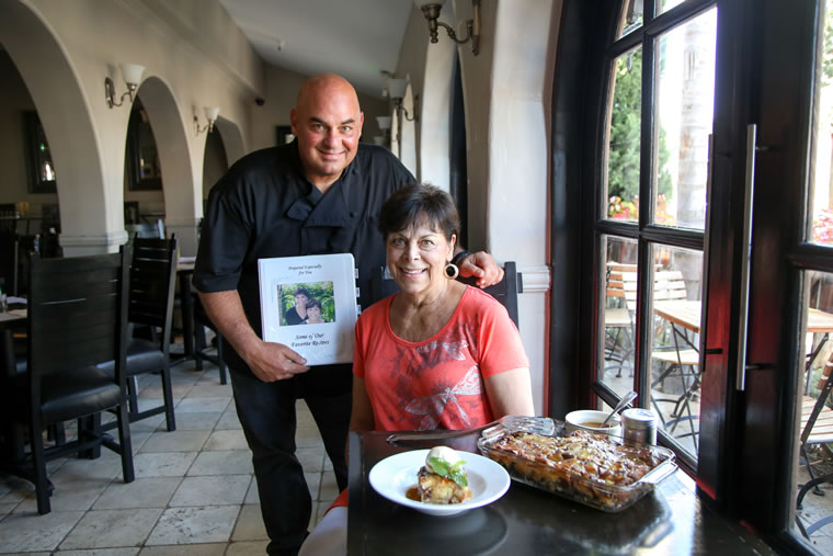 Craig Connole has served his mother's bananas Foster bread pudding in nearly all of his establishments.