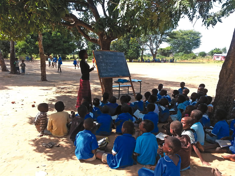 Direct Connections to Africa has sponsored nearly 400 students in Malawi.   Photo Courtesy of Mary Ellen Carter