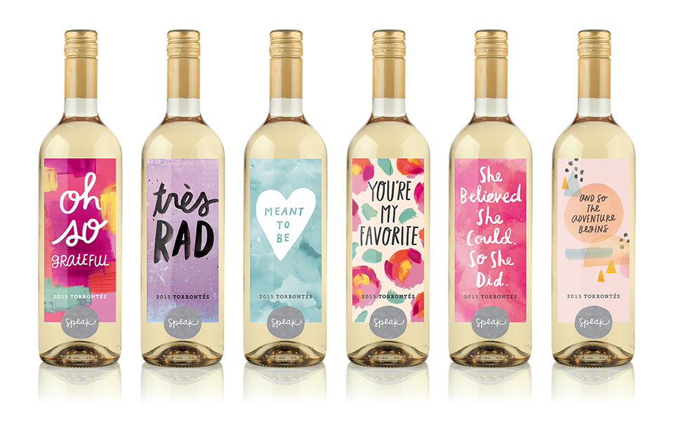 Speak Wines latest collection, released in November, features six new labels. (Courtesy Speak Wines)