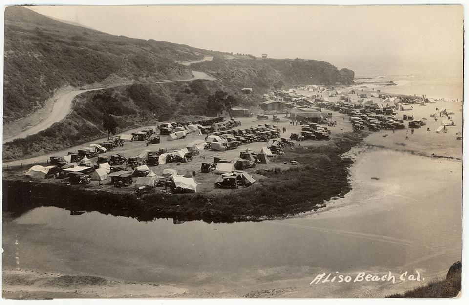 PC Laguna Beach Aliso Beach Aerial_Courtesy of the Laguna Beach Historical Society