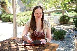 Game developer Roxanne Goodcell.