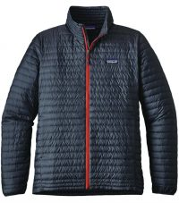 Patagonia's Nano Puff Jacket's insulation is made with 55-percent post-consumer recycled content. Available at Hobie Surf Shop.