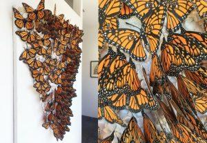 Monarch Pile by Sonia Romero