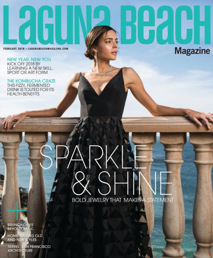 laguna beach magazine january 2018