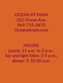 Ocean at Main Hours of Operation