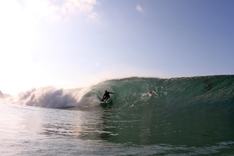 Gary Larson surfing_credit Jared Sislin