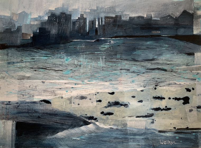 """""""View Beyond Deep Waters"""" by Lynn Welker_credit Sandstone Gallery"""