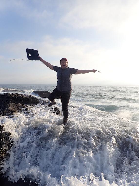 Claire Arre of Laguna Ocean Foundation