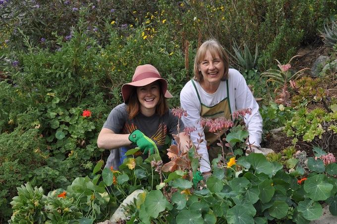 community garden with Ann Christoph-credit Courtesy of Ann Christoph